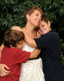 Família alegre Imagens de Stock Royalty Free