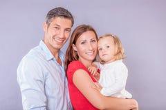 Família amigável Foto de Stock
