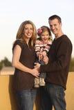 Família ao ar livre Foto de Stock