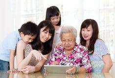 Família asiática Imagem de Stock Royalty Free