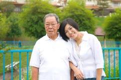 Família asiática Fotos de Stock Royalty Free