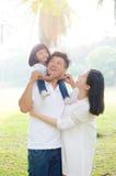 Família asiática bonita Fotos de Stock Royalty Free