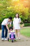 Família asiática feliz Foto de Stock