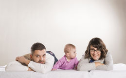 Família pequena Fotos de Stock