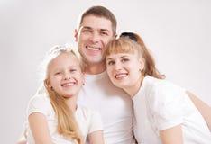 Família com filha foto de stock royalty free