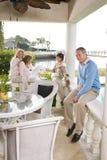 Família com ovas do irmão Imagem de Stock Royalty Free