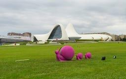 Família cor-de-rosa dos caracóis Imagens de Stock