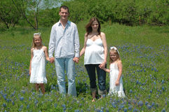 Família crescente imagem de stock