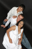 Família crescente fotos de stock royalty free