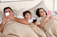 Família da tecnologia Imagens de Stock Royalty Free