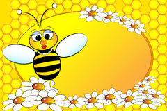 Família das abelhas: Mamã - ilustração dos miúdos Foto de Stock