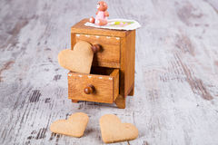 Família das cookies foto de stock royalty free