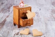 Família das cookies Imagem de Stock Royalty Free