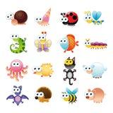Família de animais engraçados Imagem de Stock