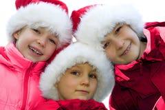 A família de Claus.   imagem de stock