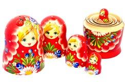 Família de Matryoshka Foto de Stock Royalty Free