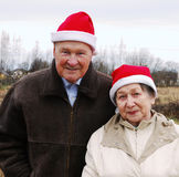Família de Santa Fotos de Stock Royalty Free