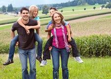 Família-divertimento 10 Imagens de Stock