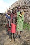Família do Dasanech Imagem de Stock
