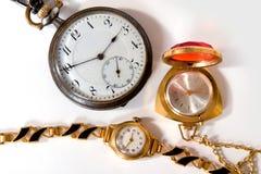 Família do relógio Fotografia de Stock Royalty Free