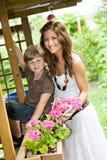 Família do verão Fotografia de Stock Royalty Free
