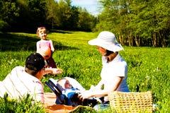 Família do verão Imagens de Stock Royalty Free