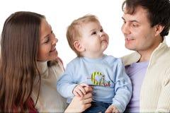 Família feliz. Fotografia de Stock Royalty Free