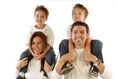 Família feliz Imagem de Stock