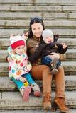 Família feliz Imagem de Stock Royalty Free