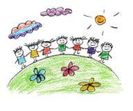 Família feliz ilustração do vetor