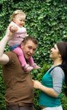 Família feliz Imagens de Stock Royalty Free