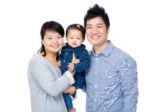 Família feliz de Ásia fotos de stock royalty free
