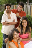 Família inter-racial