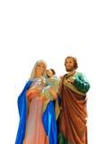 Família, Joseph, Virgem Maria e bebê santamente Jesus Imagem de Stock Royalty Free