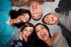 Família latino-americano Fotografia de Stock Royalty Free