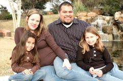 Família Loving Fotografia de Stock