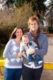 Família moderna Imagens de Stock Royalty Free
