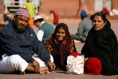 Família muçulmana Imagem de Stock Royalty Free