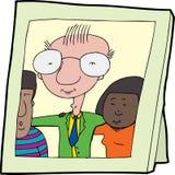 Família multicultural feliz Imagens de Stock