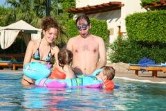 Família na associação imagem de stock royalty free