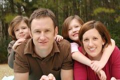 Família nova Fotografia de Stock