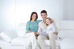 Família nova Foto de Stock Royalty Free