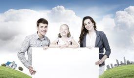 Família nova Foto de Stock