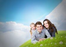 Família nova Fotografia de Stock Royalty Free