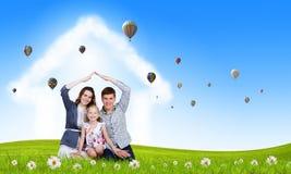 Família nova Fotos de Stock Royalty Free