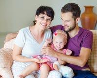 Família nova Imagens de Stock