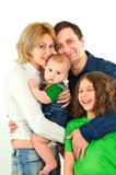 Família nova feliz Imagem de Stock