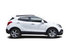 Família nova SUV imagens de stock