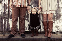 Família rústica Imagem de Stock Royalty Free