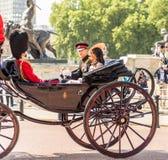 Família real britânica foto de stock